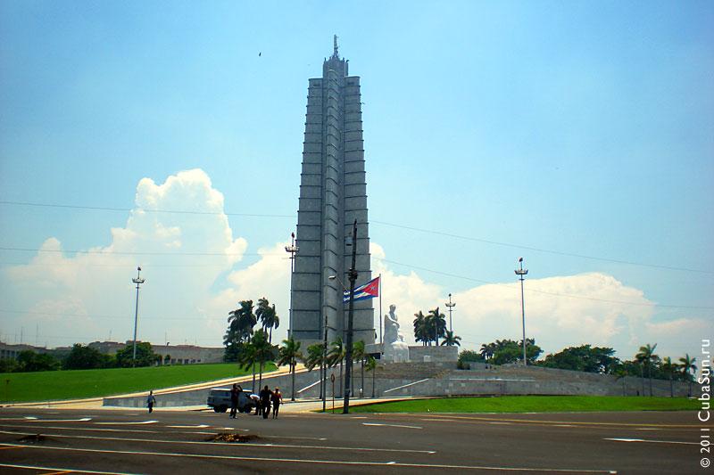 Площадь Революции, Гавана. Мемориал Хосе Марти (Jose Marti Memorial).