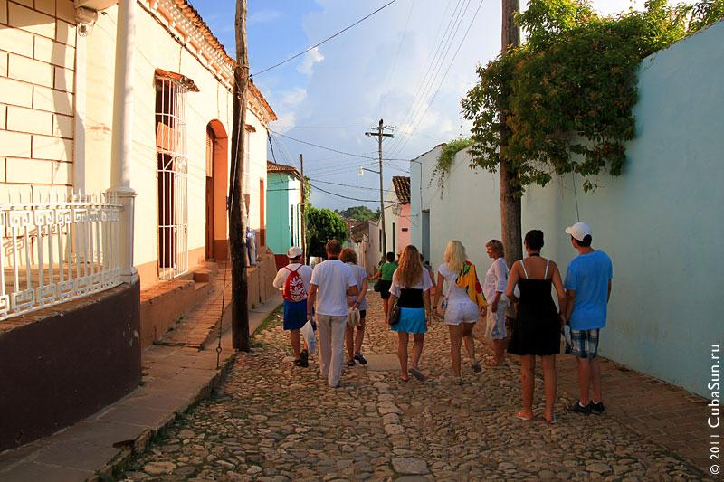 Улочка Тринидада.