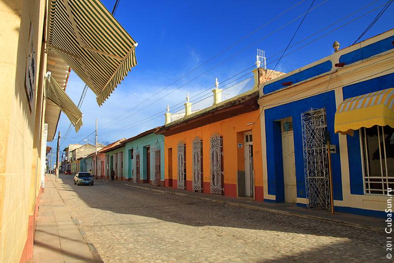 Улица Тринидада (Куба).