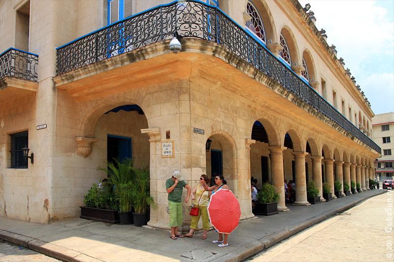 Hotel Santa Isabel Havana.