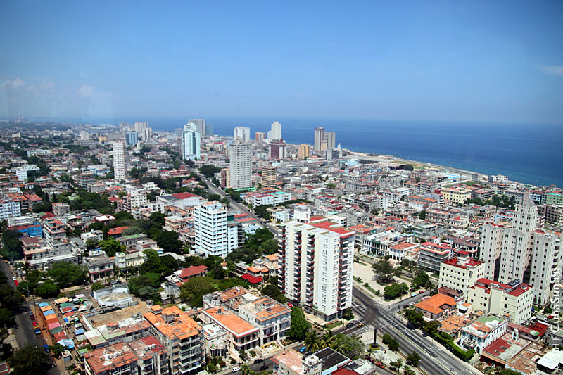 Район Гаваны Ведадо (Vedado).